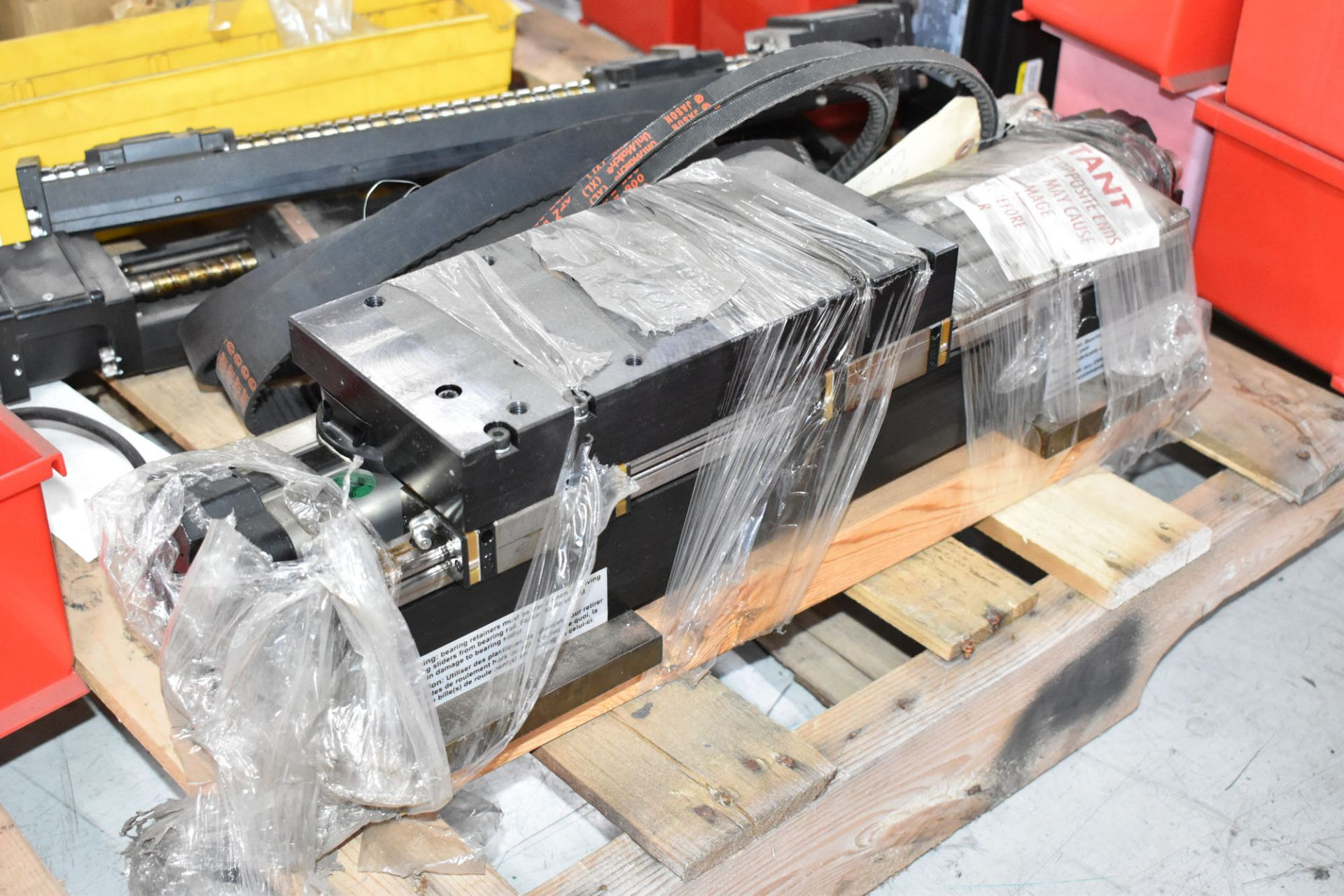 LOT/ PALLET WITH CONTENTS CONSISTING OF FITTINGS, HARDWARE, AND EXTRUDER LINE COMPONENTS [RIGGING - Image 4 of 5