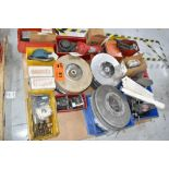 LOT/ PALLET WITH CONTENTS CONSISTING OF REELS, CHAIN, AND EXTRUDER LINE COMPONENTS