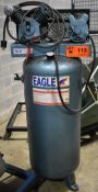 EAGLE 5 HP VERTICAL TANK PISTON-TYPE COMPRESSOR (LOCATED IN BRAMPTON, ON)