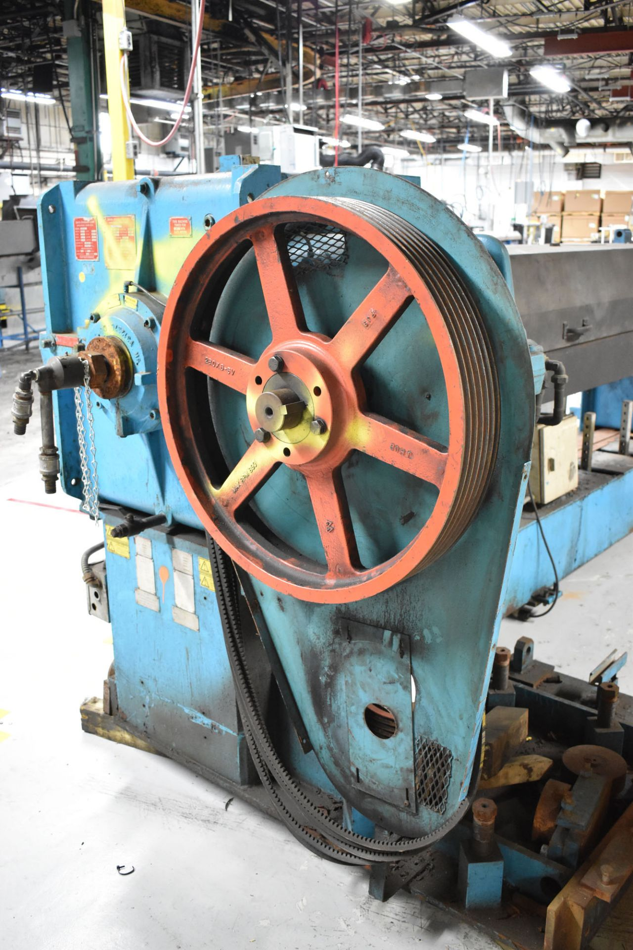 """DAVIS STANDARD (2003) 45IN45H 4.5"""" CAPACITY SINGLE SCREW PLASTIC EXTRUDER WITH 360 HP RATED GEARBOX, - Image 5 of 6"""