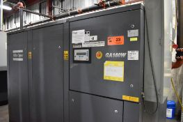 ATLAS COPCO GA160W 200 HP ROTARY SCREW AIR COMPRESSOR WITH APPROX. 37,721HOURS (RECORDED ON