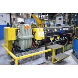 """DAVIS STANDARD (2003) 45IN45H 4.5"""" CAPACITY SINGLE SCREW PLASTIC EXTRUDER WITH 304 HP RATED GEARBOX,"""