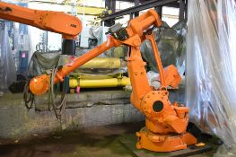 ABB IRB 4400 FOUNDRY PLUS 6 AXIS INDUSTRIAL ROBOT WITH ABB CONTROL & TEACH PAD, S/N: 4405483 (CI) (