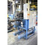 ICE DHA-60-RO SKID MOUNTED INDUSTRIAL CHILLER WITH 60 TON CAPACITY, ROOFTOP CONDENSER, S/N: 0498-