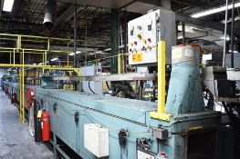 GERLACH (2) ZONE CURING OVEN, APPROX. 96' RUN WITH SINGLE OPERATOR STATION, S/N: N/A (CI)