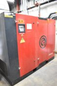 CHICAGO PNEUMATIC (2014) CPVS250 250 HP ROTARY SCREW AIR COMPRESSOR WITH APPROX. 36,545HOURS (
