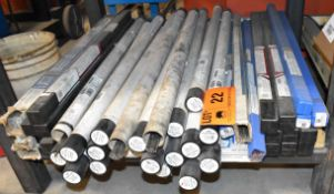 LOT/ TIG WELDING ELECTRODES [RIGGING FEES FOR LOT #22 - $25 USD PLUS APPLICABLE TAXES]