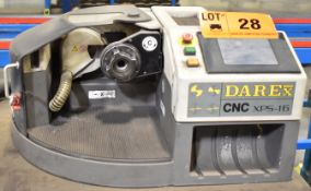 DAREX XPS-16 CNC TOOL SHARPENER WITH 3550 RPM [RIGGING FEES FOR LOT #28 - $25 USD PLUS APPLICABLE