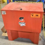 SAFETY KLEEN MODEL 34.4 TANK-TYPE PARTS WASHER [RIGGING FEES FOR LOT #36 - $25 USD PLUS APPLICABLE