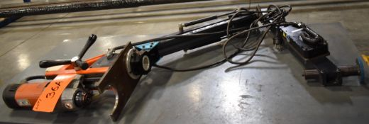 JEIN MAG BASE DRILL WITH TAP-RITE AC1050HD TAPPING ARM [RIGGING FEES FOR LOT #36 A - $25 USD PLUS