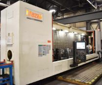 MAZAK (2011) SUPER VELOCITY CENTER 2000L/200-II HIGH SPEED CNC TRAVELLING COLUMN VERTICAL