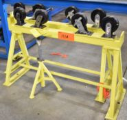 LOT/ PIPE ROLLER STANDS