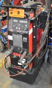 LINCOLN (2016) ELECTRIC ASPECT 375 DIGITAL TIG WELDER WITH LINCOLN ELECTRIC COOL ARC 47 WATER