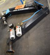TAP-RITE AC1050HD TAPPING ARM WITH PNEUMATIC TAPPING HEAD TOOL [RIGGING FEES FOR LOT #36 B - $25 USD