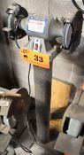 "KING CANADA KC-690 6"" DOUBLE END PEDESTAL GRINDER [RIGGING FEES FOR LOT #33 - $25 USD PLUS"