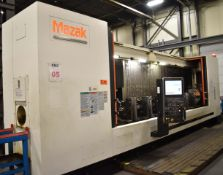 MAZAK (2012) SUPER VELOCITY CENTER 2000L/200-II HIGH SPEED CNC TRAVELLING COLUMN VERTICAL