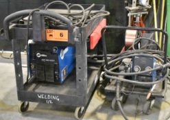 MILLER (2011) XMT 350 MIG WELDER WITH MILLER 70 SERIES WIRE FEEDER, CABLES & GUN, S/N: MB230169A [