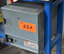 GULLCO MODEL 125 ELECTRODE STABILIZING OVEN WITH 288 DEG. C. MAX. TEMPERATURE, S/N: 34473-9 [RIGGING