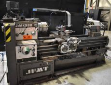 "JFMT JIMK530 GAP BED ENGINE LATHE WITH 21"" SWING OVER BED, 60"" BETWEEN CENTERS, SPEEDS TO 1500"
