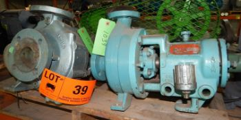 LOT/ SPARE PUMPS (CI) [SKU 1037, 1038, 1039] (LOCATED IN DIDSBURY, AB) [RIGGING FEE FOR LOT #39 - $