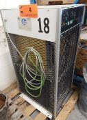 GARDNER DENVER RDS 150A REFRIGERATED AIR DRYER, S/N: 903-09-16-1998-4038 (CI) (LOCATED IN CALGARY,