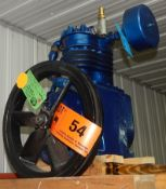 TWO STATE COMPRESSOR PISTON ASSEMBLY WITH 5 HP, 15 CFM, 150 PSI, S/N: N/A (CI) [SKU 1380] (LOCATED