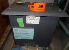 REVCO TRANSFORMER WITH 40 KVA, 200/460V, 3 PHASE, 50 HZ (CI) [SKU 1067] (LOCATED IN DIDSBURY, AB) [