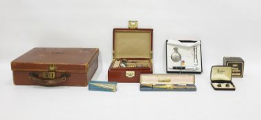 Assorted collectablesto include costume jewellery, magnifying lenses, pens, etc