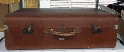 Overpond plywood vintage trunk