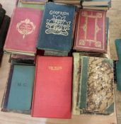 Quantity of bindings and antiquarian, mainly poetry (1 box)