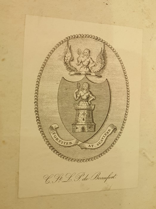 """Lot 30 - 'Maria Edgeworth Interest: """"Sir Walter Scott's Works"""", signed on the content page 'Maria"""