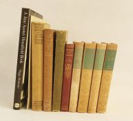 Austen, Jane  Thomas Nelson & Sons, 4 uniform vols, cream vellum with green pastedowns to title