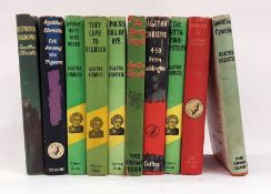 "Agatha Christie ""The Crime Club Series"" including 'Sparking Cyanide' 1945, 'The Hollow' 1946, 'The"