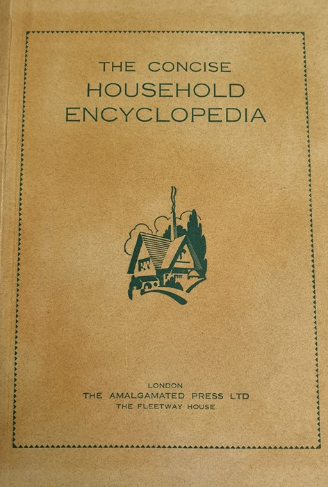 "Lot 19 - ""English Housekeeper Cookery Book"", lacking boards, early chapters, very damaged ""Catalogue Musee"