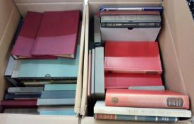 Quantity of folio society books, various dates from 1945 to 1960 and 1950 to 1970 with two small