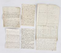Letters from Maria Edgeworth including My Dearest Mary dated October 4th 1834 from Edgeworth's Town,