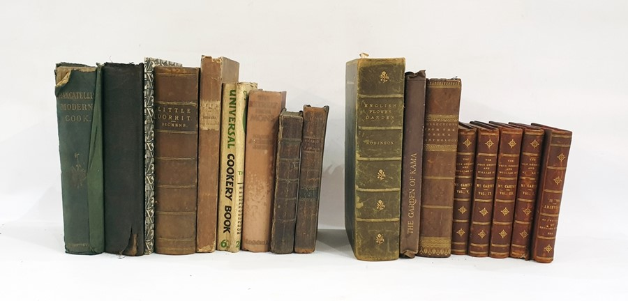 "Lot 52 - Quantity of antiquarian booksincluding: Dickens, Charles ""Little Dorrit"", Chapman & Hall 1863,"