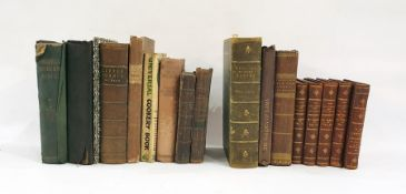 "Quantity of antiquarian books including: Dickens, Charles ""Little Dorrit"", Chapman & Hall 1863,"