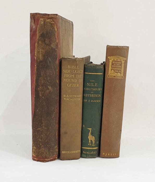 "Lot 59 - Baker, Sir Samuel W ""The Nile Tributariesof Abyssiniaand the Sword Hunters of the Hamram"