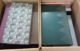 Quantity of folio society books, various dates 1945, 1960's (1 box not 2 )