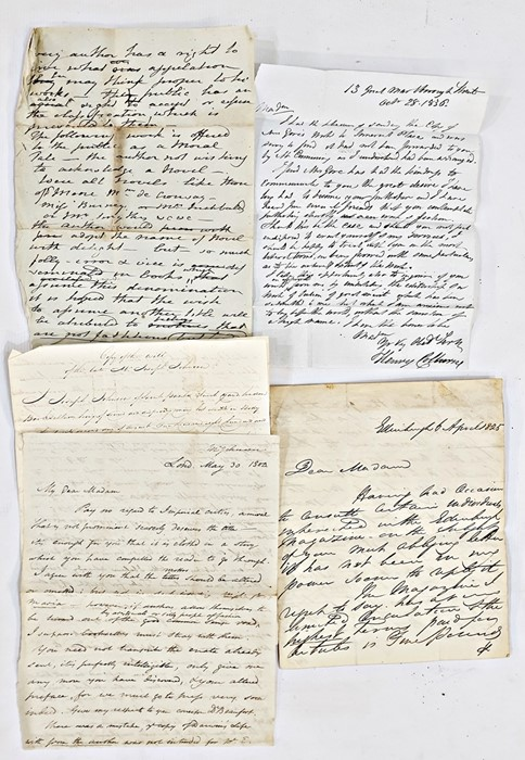 Lot 39 - Copy of the Will of the late Mr Joseph Johnston,publisher previous to R. Hunter in Baldwin &