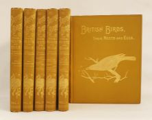 "Butler, Arthur G and Frohawk, F W (ills)  ""British Birds with their Nests and Eggs in Six"