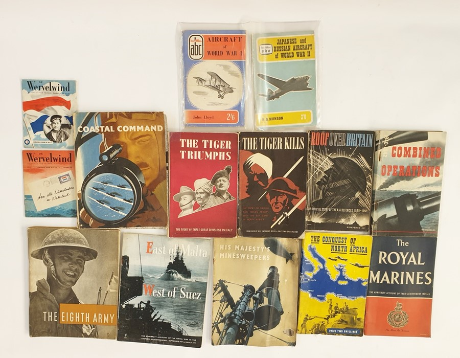 Lot 12 - Militaria: Coastal Command Magazine, the 8th Army, East of Malta, West of Suez, His Majesty's Mine