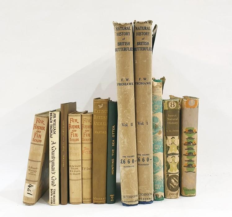 "Lot 53 - The New Naturalist Series No.1 Ford, E B ""Butterflies"", Collins 1945, numerous ills, green cloth, dj"