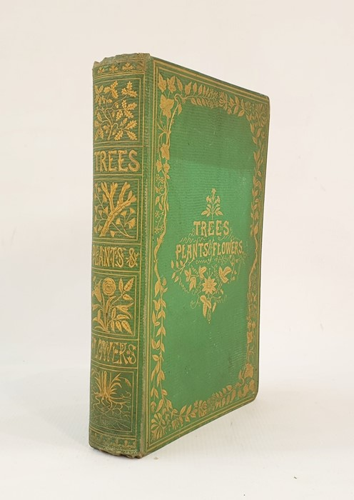 "Lot 27 - Lee, Mrs R  ""Trees, Plants and Flowers: Their Beauties, Uses and Influences"", illustrations drawn"