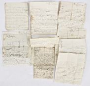 Quantity of letters, Maria Edgeworth -some possibly copies of letters to various people, dates