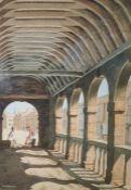 J S Kelley Pair of watercolour drawings Street scenes, each signed lower left (2)
