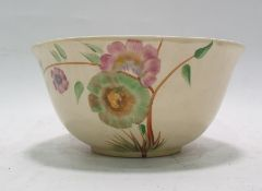 Royal Staffordshire Clarice Cliff pottery sugar bowl 'Honey Glaze' pattern