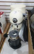Kitchen Aid Nespresso coffee maker and electric milk frother