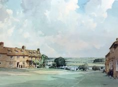 """After Stanley Orchart Colour print """"Evening Light"""", signed lower right, published by Bewley Fine"""